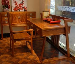 字台,国安佳美,实木家具