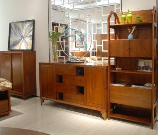 联邦家居,餐边柜,实木家具
