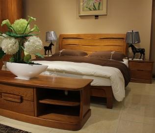 光明,床头柜,实木家具