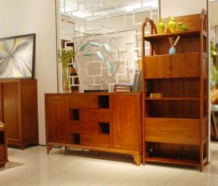 联邦家居,书架,实木家具