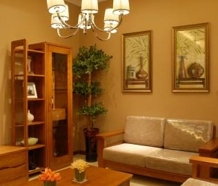 厅柜,光明,实木家具