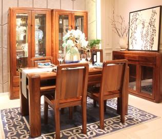 赖氏家具,餐桌,实木餐桌