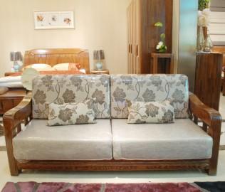 双人沙发,光明家具,实木家具