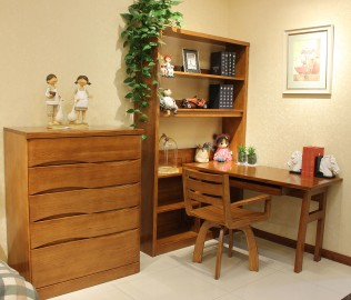 书架字桌,光明家具,实木家具