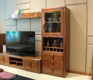厅柜,光明家具,实木家具