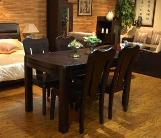 华日家居,楠木,餐桌