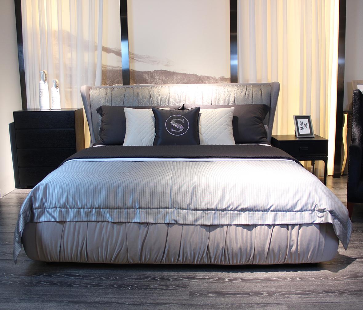 欧式睡床排骨架