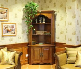 迦南,角柜,实木家具