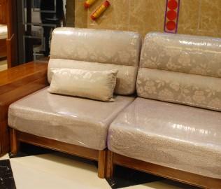 单人沙发,光明家具,实木家具