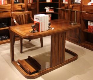 写字台,赖氏家具,进口实木