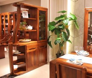 间厅柜,赖氏家具,进口实木