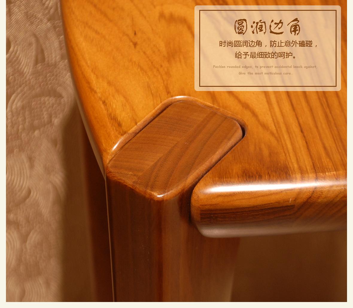 赖氏家具家具木高都市WJW0101A乌金v家具实木风型号花架官网图片