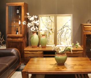 厅柜,赖氏家具,进口实木