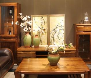 电视柜,赖氏家具,进口实木