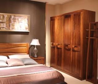 四门衣柜,赖氏家具,进口实木