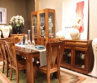餐边柜,赖氏家具,进口实木