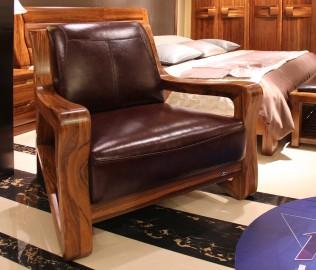 赖氏家具,休闲沙发,进口实木