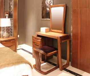 梳妆台,赖氏家具,进口实木