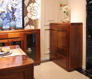 鞋柜,赖氏家具,进口实木