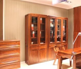 赖氏家具,书柜,三门书柜