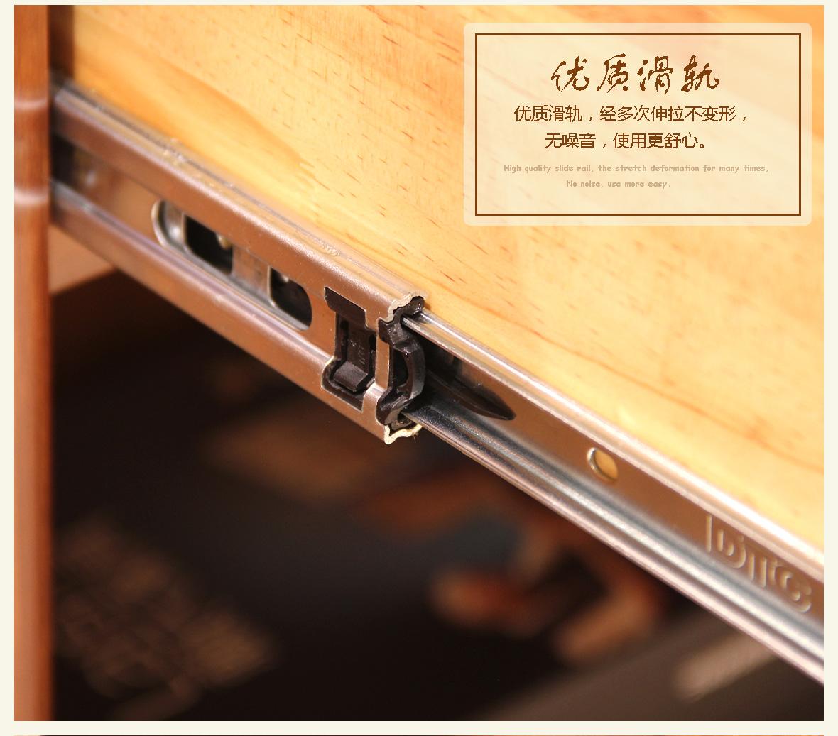 赖氏书柜家具木转角乌金WJE02型号v书柜实木家具店大郭图片