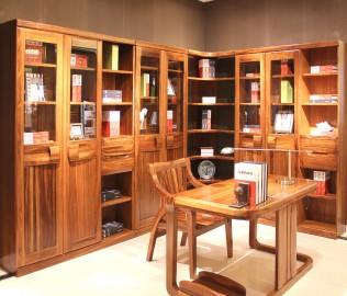 赖氏家居,转角书柜,书柜