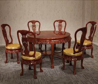 友联家具,桌椅组合,餐厅家具