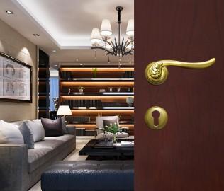 室内门锁,西玛五金,纯铜