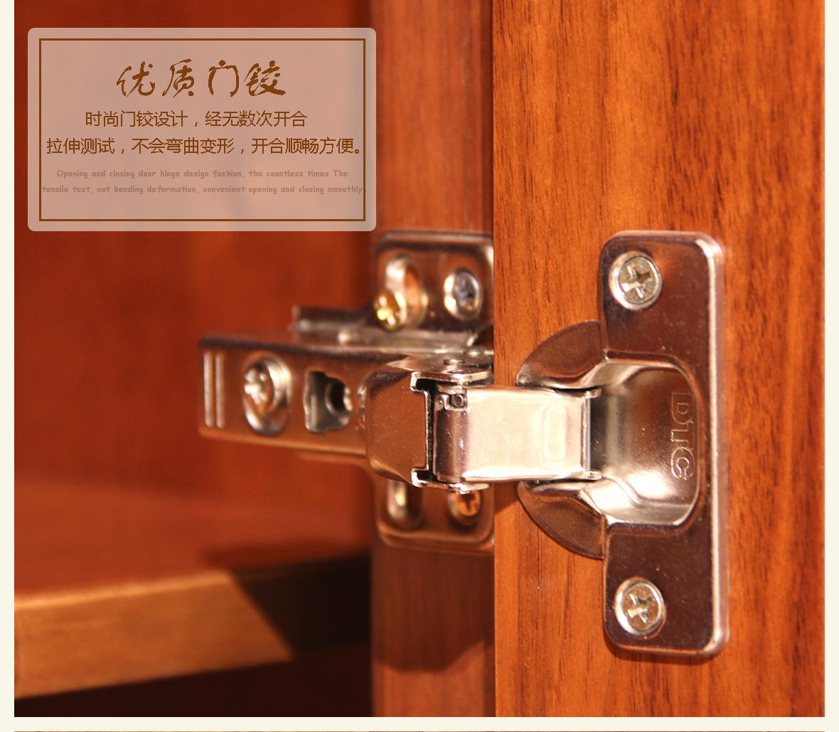 赖氏家具 胡桃木二门衣柜lsa03c型号 进口实木 现代