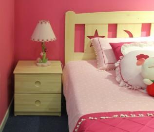 松堡王国,床头柜,儿童家具