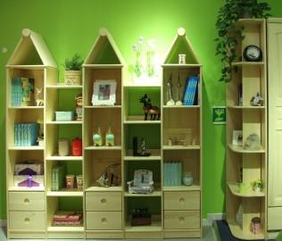 松堡王国,尖顶柜,儿童家具