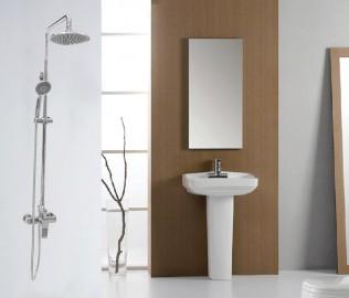 金牌卫浴,花洒,淋浴杆