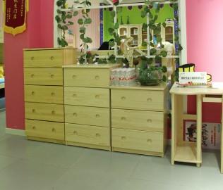 松堡王国,四抽柜,儿童家具