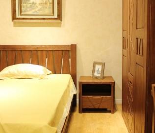天坛家具,床头柜,实木家具