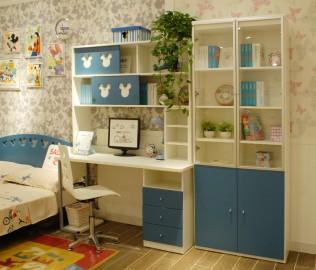 二门书柜,酷漫居,纤维板