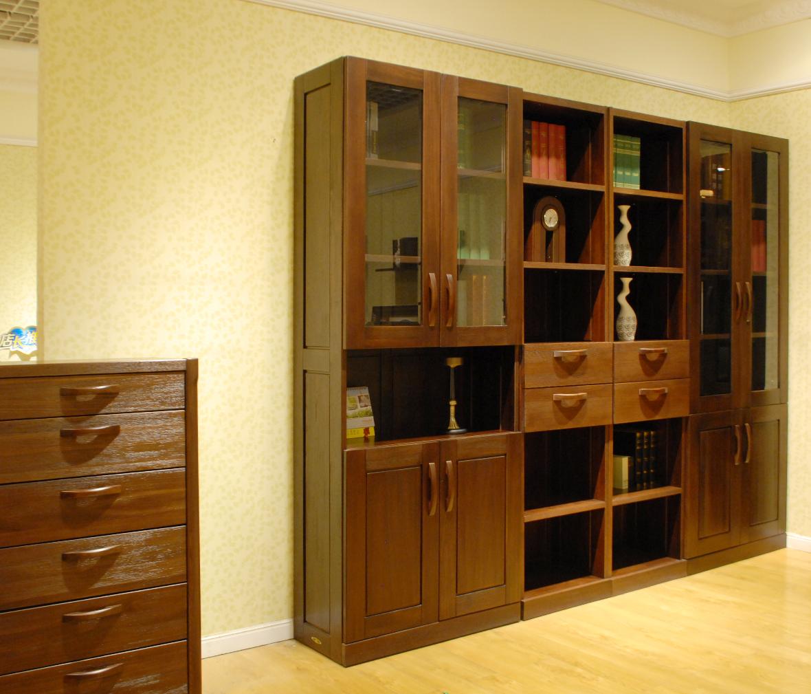 现代风格书柜-北欧 简风图片
