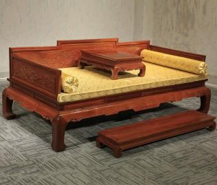 友联家具,罗汉床,实木家具