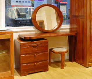 天坛家具,梳妆台,实木家具