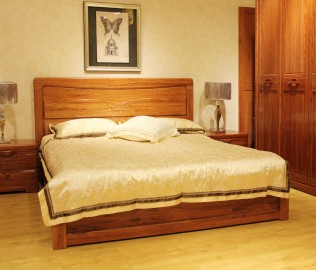 天坛家具,双人床,实木家具