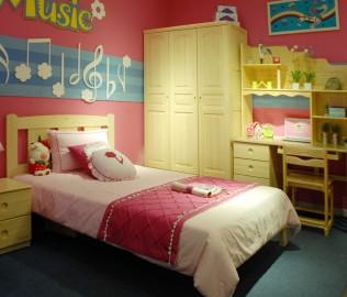 松堡王国,单层床,儿童家具