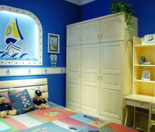 松堡王国,三门衣柜,儿童家具
