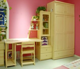 书桌,松堡王国,芬兰松木
