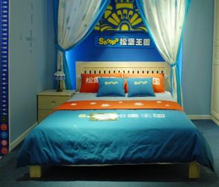 松堡王国,床箱,儿童家具