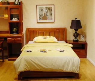天坛家具,单人床,床架