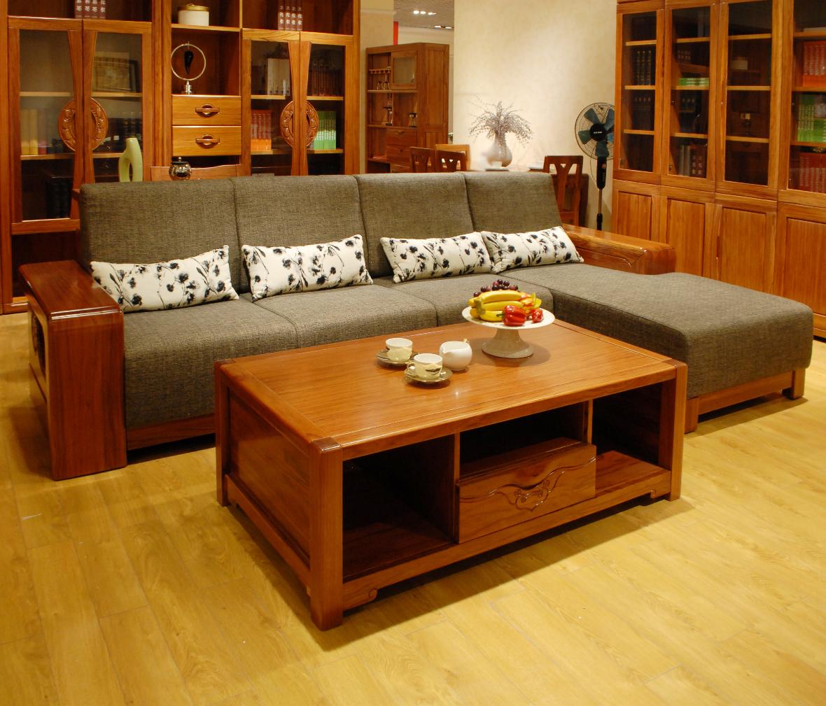 眼缘:2  一品木阁 贵妃位沙发 m520-1型号 柞木材质 实木家具 现代
