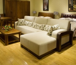 天坛家具,沙发,躺位沙发