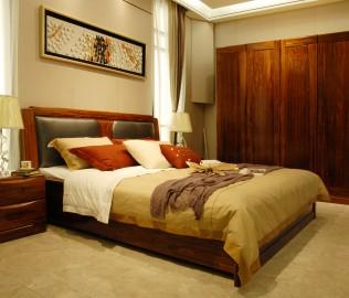 天坛家具,床架,双人床