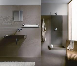 丰华卫浴,玻璃壁挂,铜镀铬