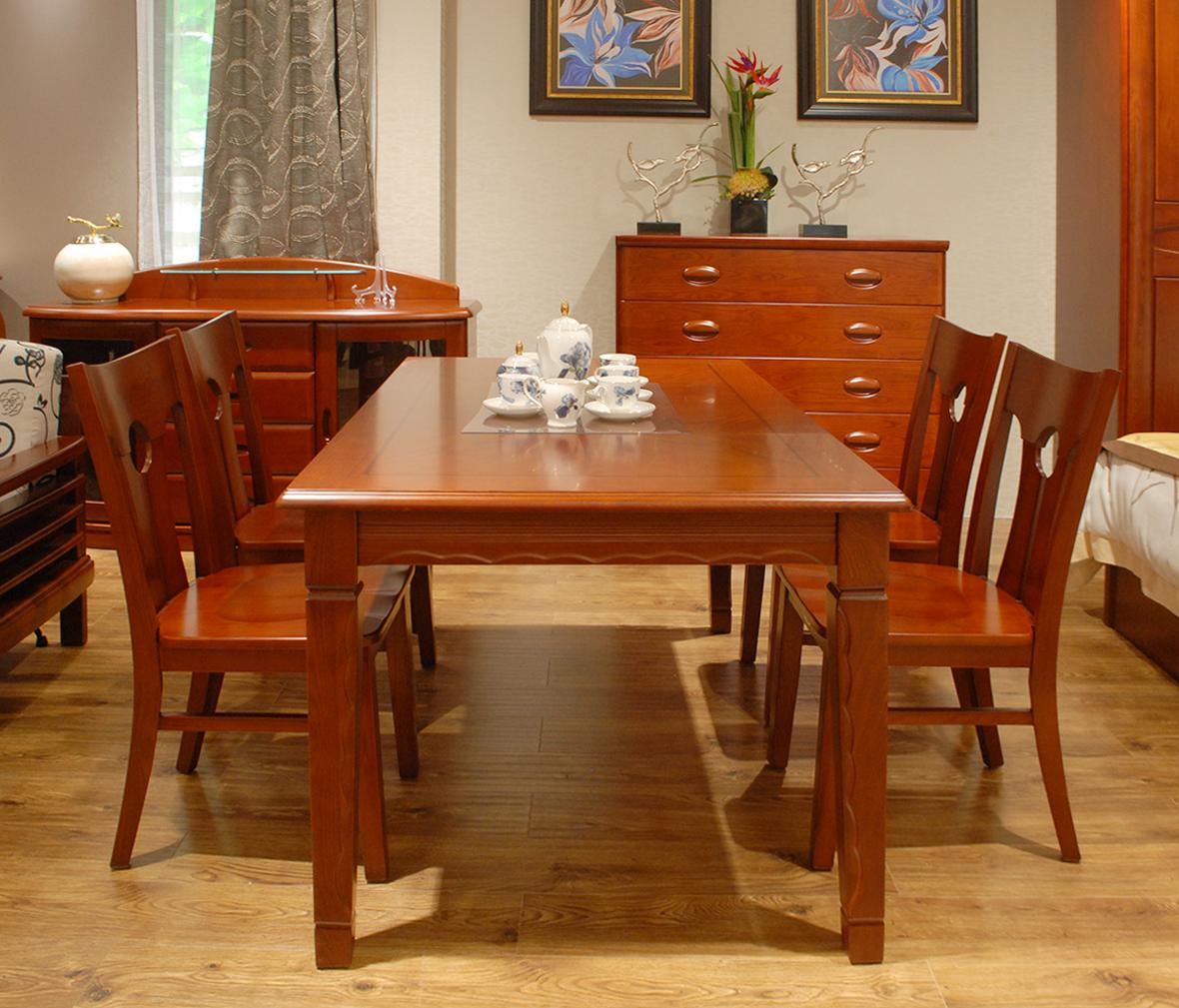 餐椅 椅子 布艺座面 胡桃木材质 欧式风格  眼缘:0  天坛家具 简风