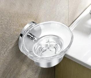 丰华卫浴,肥皂碟,铜镀铬